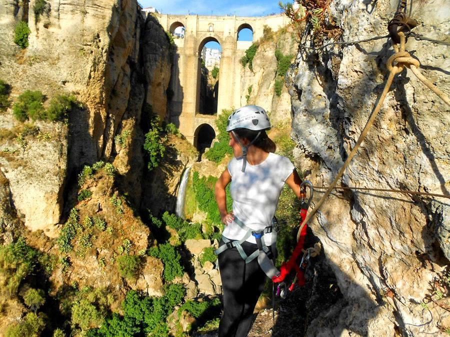 Mejores Vias Ferratas Andalucia