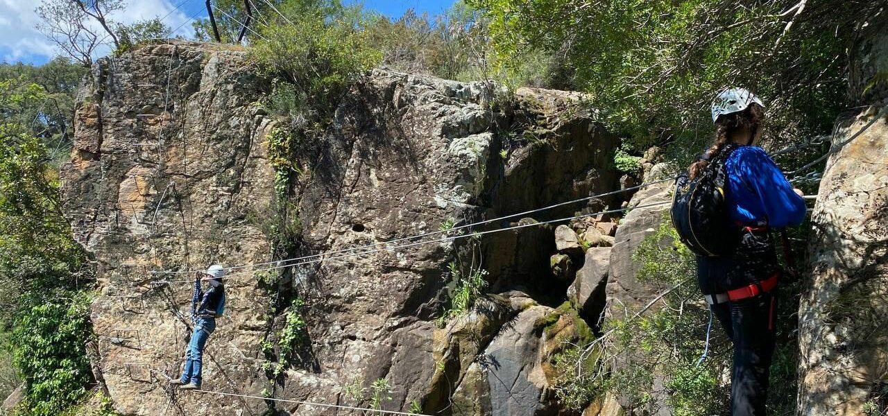 Vía Ferrata El Caiman En Cortes De La Frontera